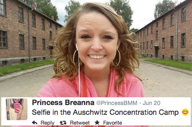 Selfie-in-the-Auschwitz-Concentration-Camp