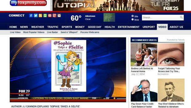 March 2014 - First Appearance as Social Media Expert on FOX29 Good Day Philadelphia