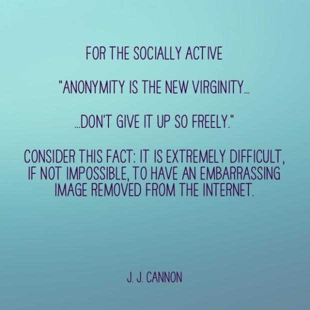 STS Instagram Anonymity