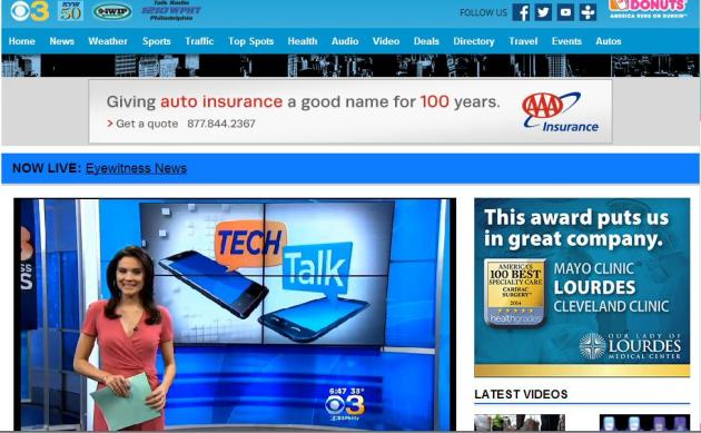 STS on CBS3Philly Tech Talk