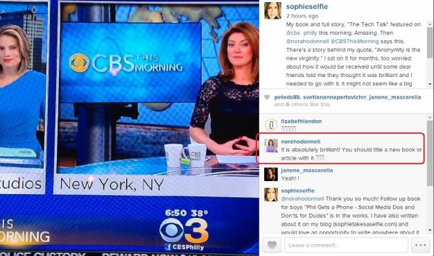 STS Quoted by Norah O'Donnell on CBSThisMorning