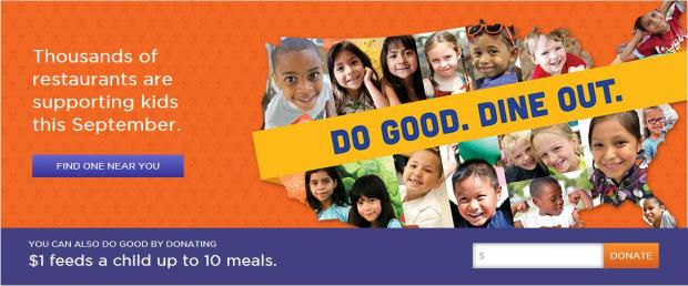 No Kid Hungry banner photo