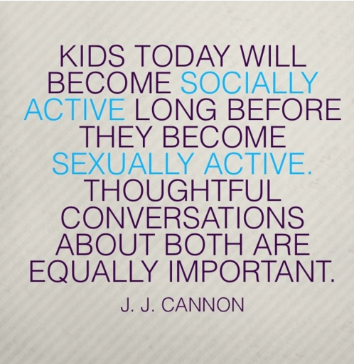 Socially Active quote